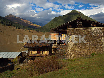 Houses in Shenako Village
