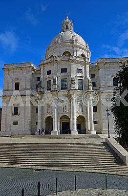 Panteao Nacional - historical patrimony. Lisbon, Portugal