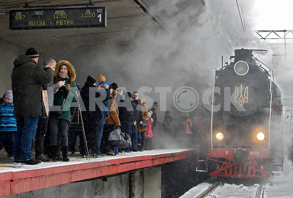 Retro locomotive — Image 77849