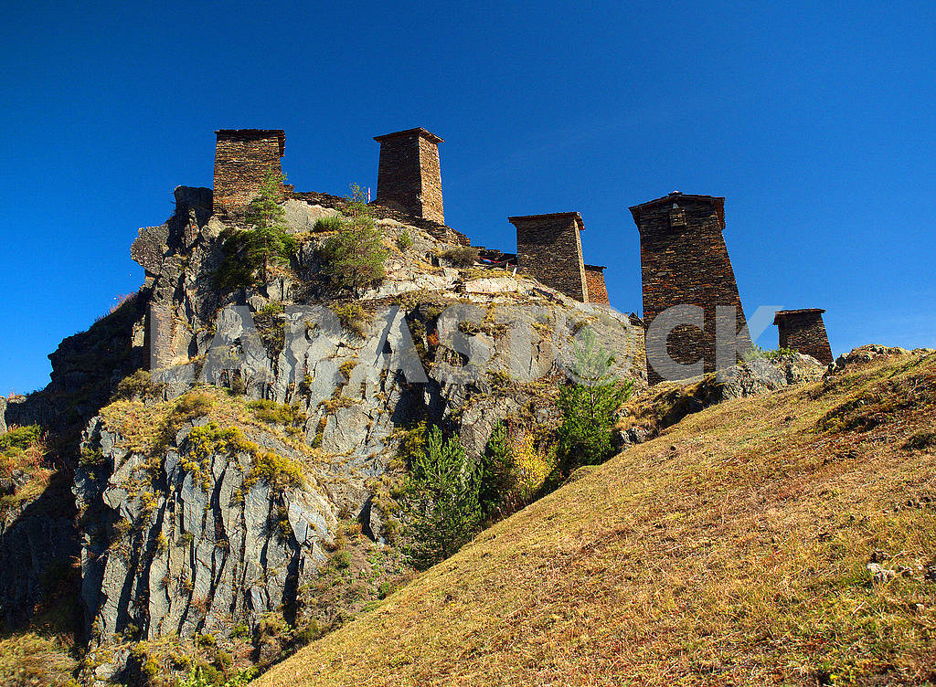 Fortress Keselo, Omalo, Georgia — Image 78039