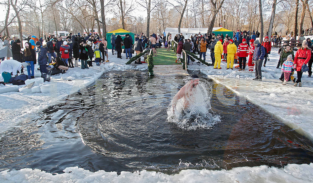 Celebration of Epiphany in Kiev — Image 78107