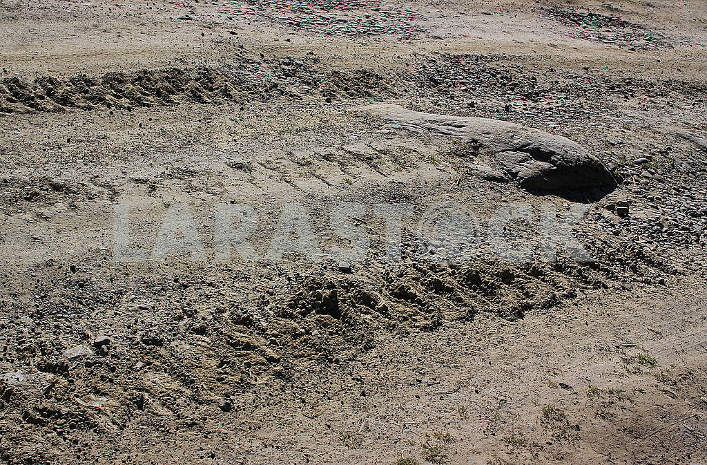 Track of a crawler tractor — Image 78112