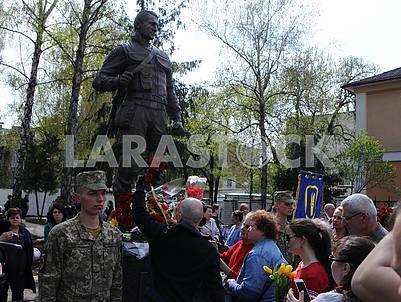 Открытие памятника Мирославу Мысле