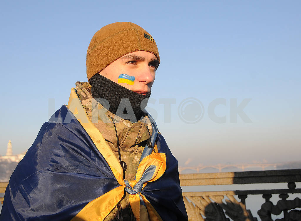 """Participants of the action """"Unite the banks of the Dnieper"""" living chain """"Unity"""" — Image 78295"""
