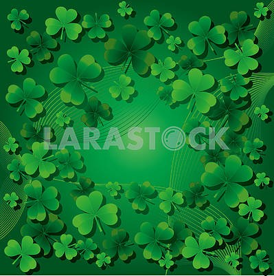 Background for St. Patrick Day, part 6.