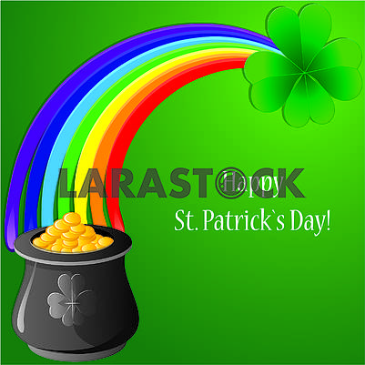 Background for St. Patrick Day, part 8
