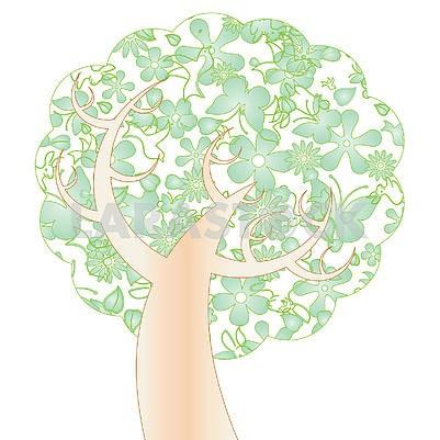 Spring tree, part 1