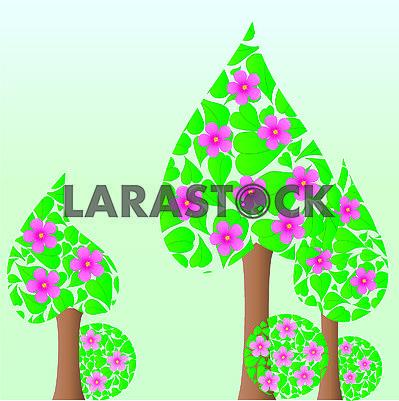 Spring tree, part 4