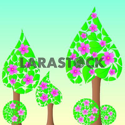 Spring tree, part 6