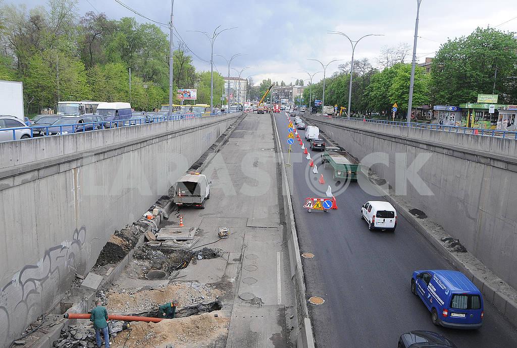 Road repair in the subway Dorogozhychi — Image 78870