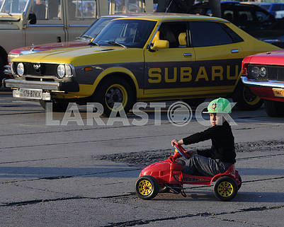 "Festival of vintage cars ""OldCarLand"""