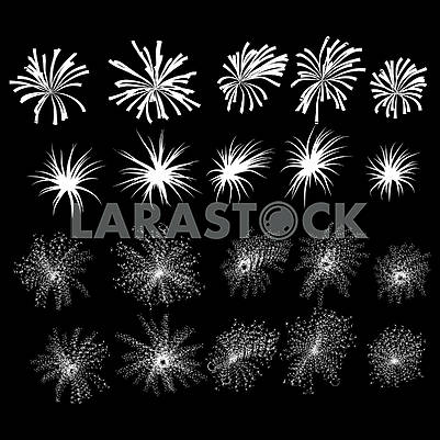 Set of fireworks, part 1