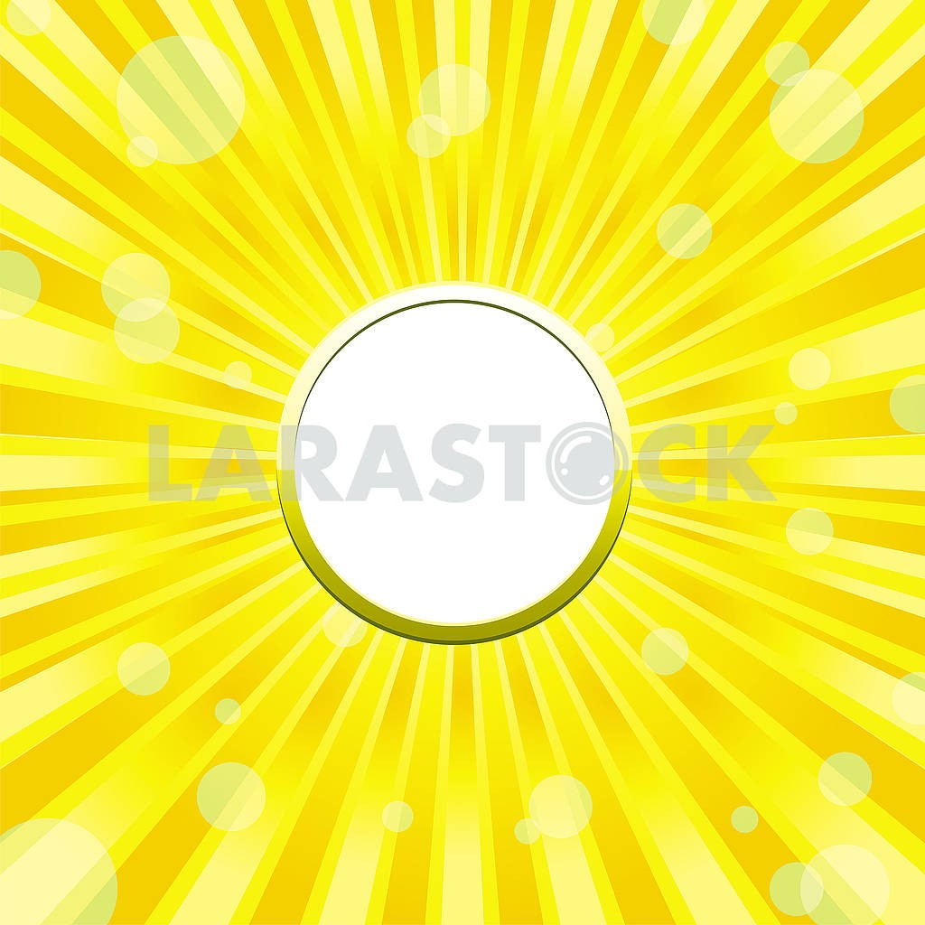 Yellow sunny Frame background with light solars — Image 79286