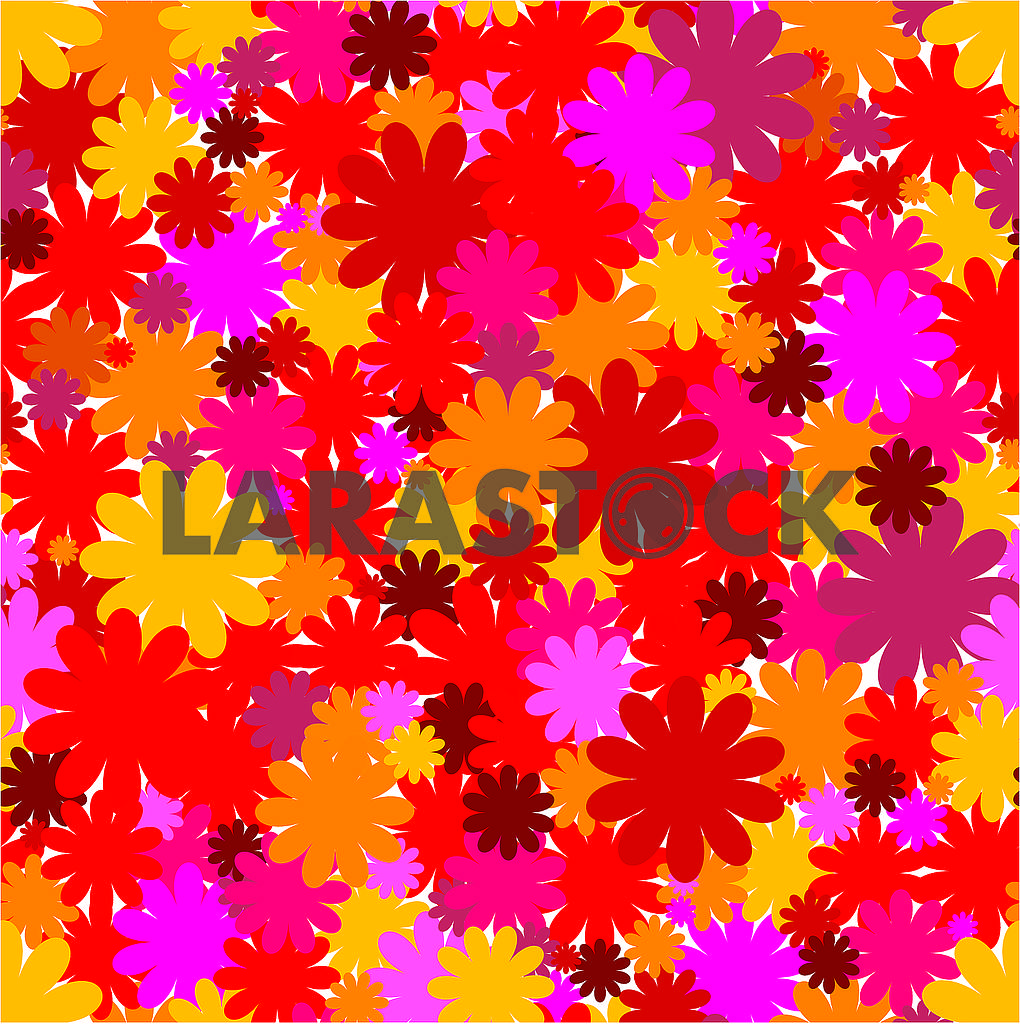Floral seamless background, part 3 — Image 79537