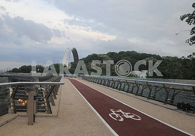 Opening of the pedestrian and bicycle bridge