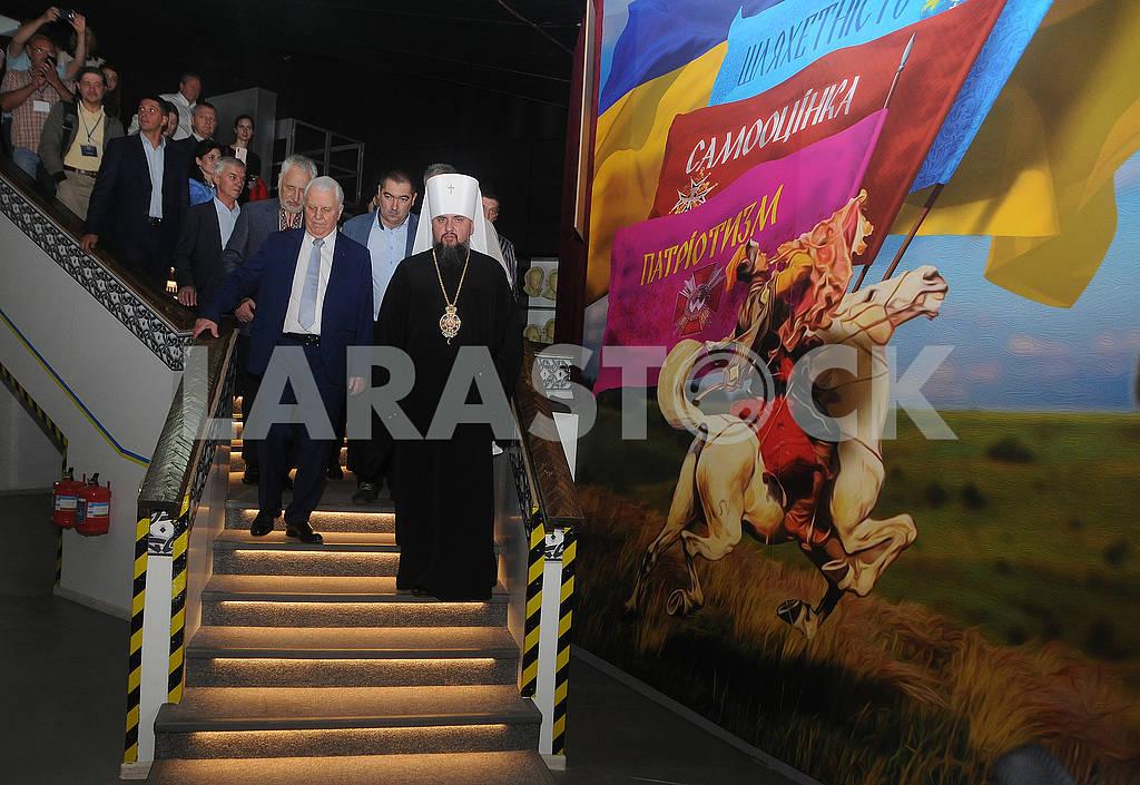 Metropolitan Epiphanius and Leonid Kravchuk — Image 80498