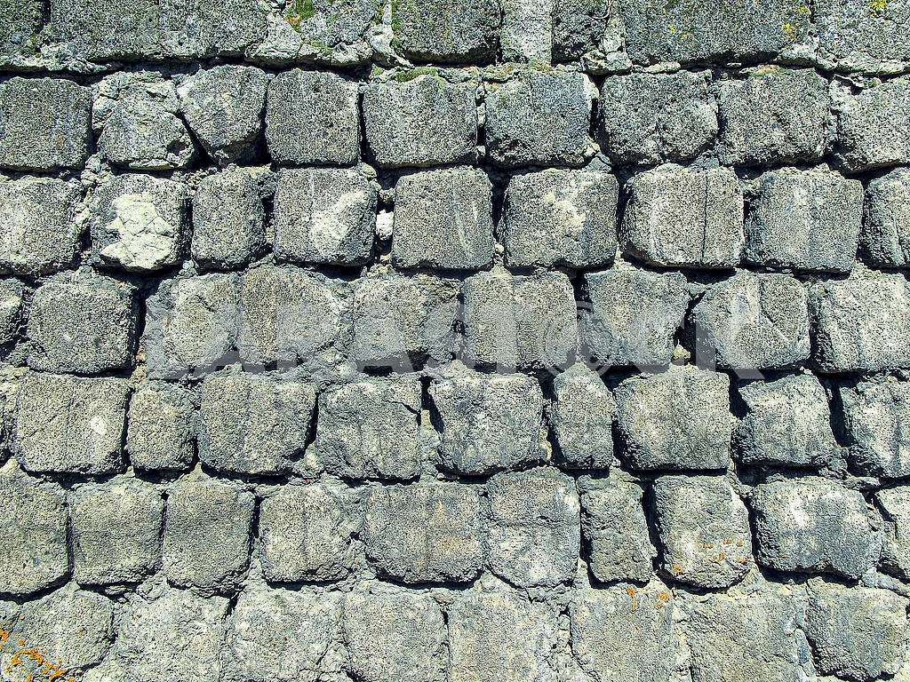 Wall from an old cinder block — Image 82972