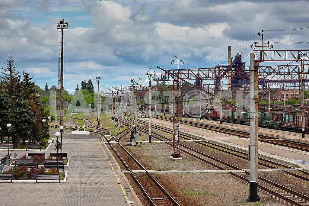 Железнодорожный вокзал Краматорск на карантине. — Изображение 83167