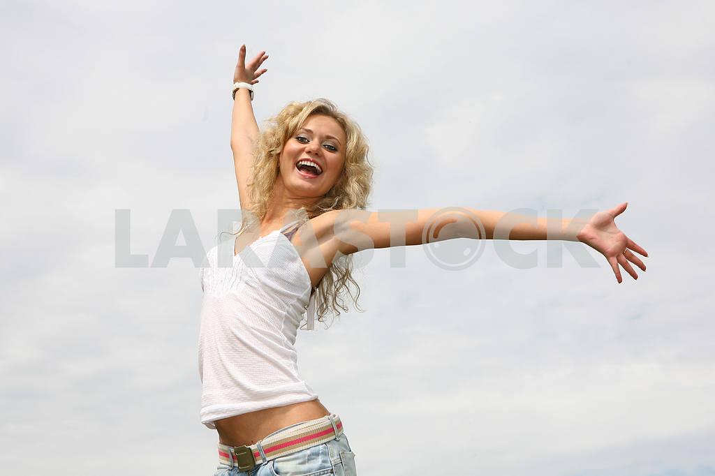 Happy girl — Image 9210